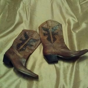 Brown leather  Matisse boots